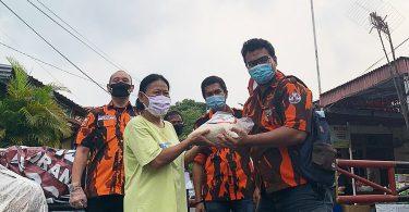Badan Pengusaha Pemuda Pancasila (BPPP) DKI Jakarta Salurkan Bantuan 5 Ton Beras